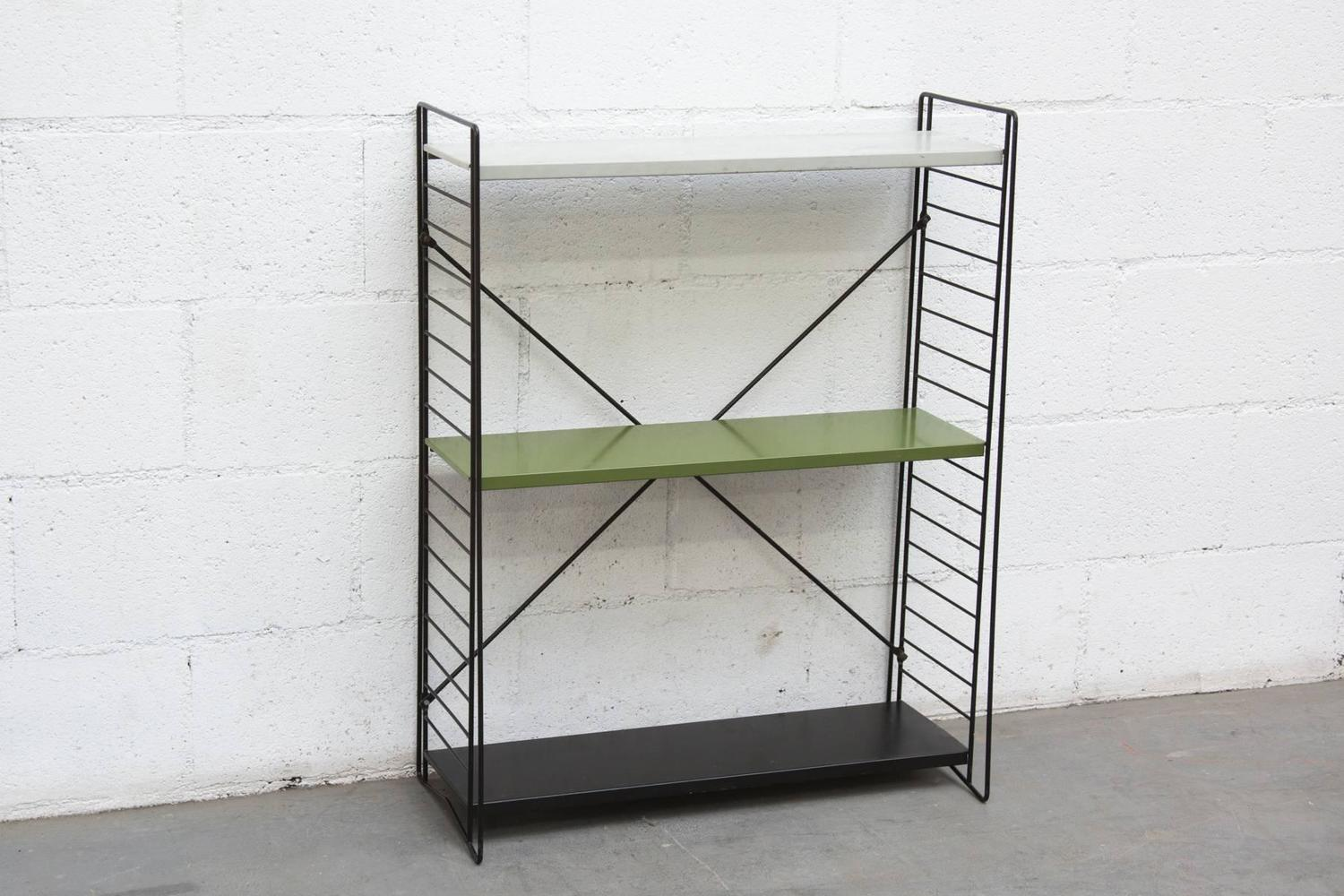 Tomado Standing Industrial Book Shelf For Sale at 1stdibs