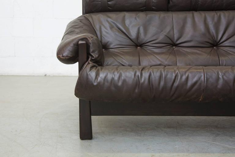 Gerard Van Den Berg Brazilian Influenced Three-Seat Sofa For Sale 2