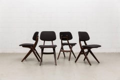 Set Of 4 Hovman Olsen Style Dining Chairs For Webe