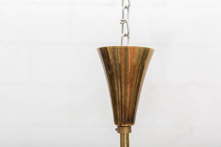 Dutch Pair of Stilnovo Style Twelve-Arm Chandeliers For Sale