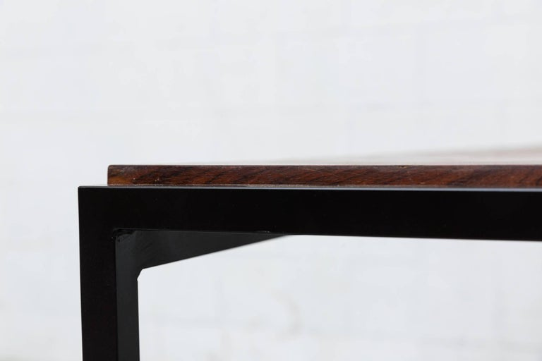 Dutch Japanese Series Style Rosewood Dining Table For Sale