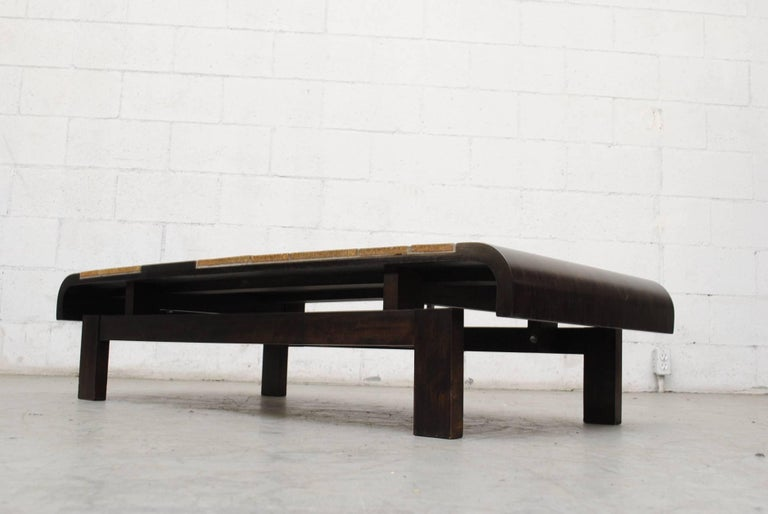 Roger Capron Rectangular 'Garrigue' Coffee Table In Good Condition For Sale In Los Angeles, CA