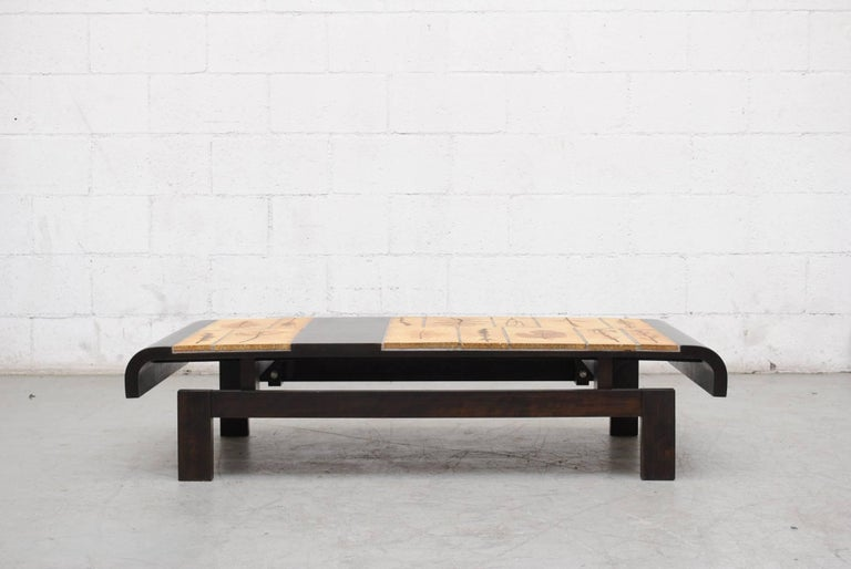 Roger Capron Rectangular 'Garrigue' Coffee Table 2