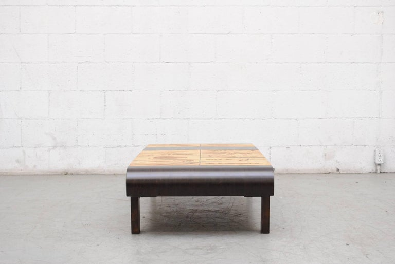 Mid-Century Modern Roger Capron Rectangular 'Garrigue' Coffee Table For Sale