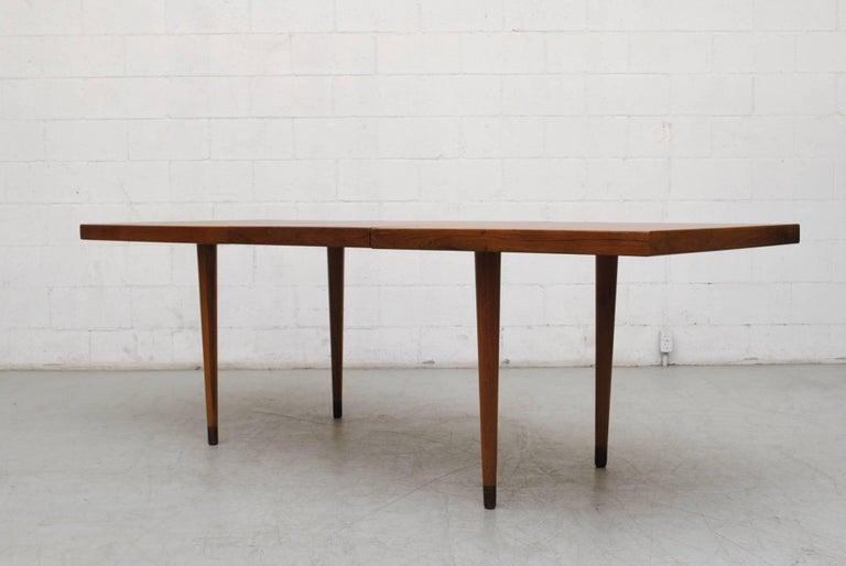 Midcentury Nana Ditzel Danish Teak Dining Table For Sale 1