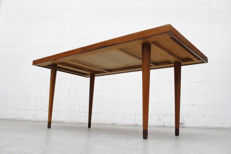 Mid-20th Century Midcentury Nana Ditzel Danish Teak Dining Table For Sale