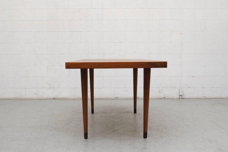 Mid-Century Modern Midcentury Nana Ditzel Danish Teak Dining Table For Sale