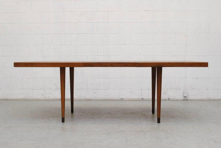Midcentury Nana Ditzel Danish Teak Dining Table For Sale 2