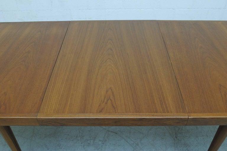 Midcentury Nana Ditzel Danish Teak Dining Table For Sale 3