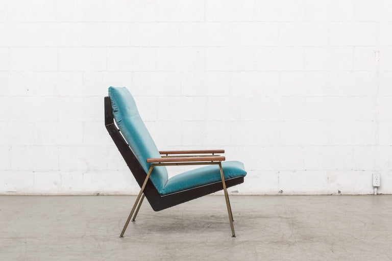 Mid-20th Century Robert Parry Lounge Chair with Teak Arm Rests For Sale