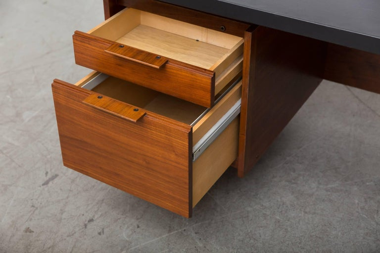Faux Leather Sven Ivar Executive Desk For Sale