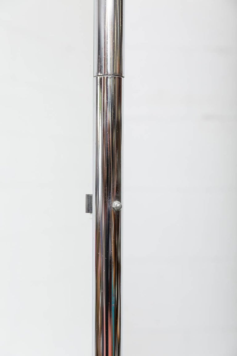 Dutch Gispen Standing Mirror  For Sale
