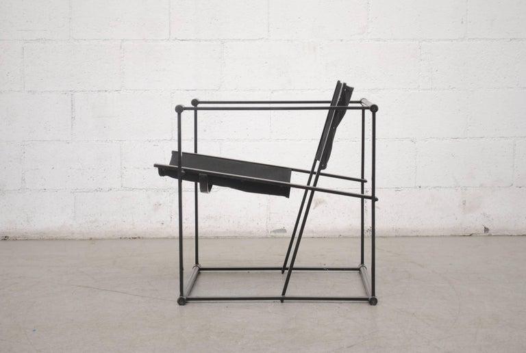 Mid-Century Modern Pastoe Cube Lounge Chair by Radboud Van Beekum For Sale