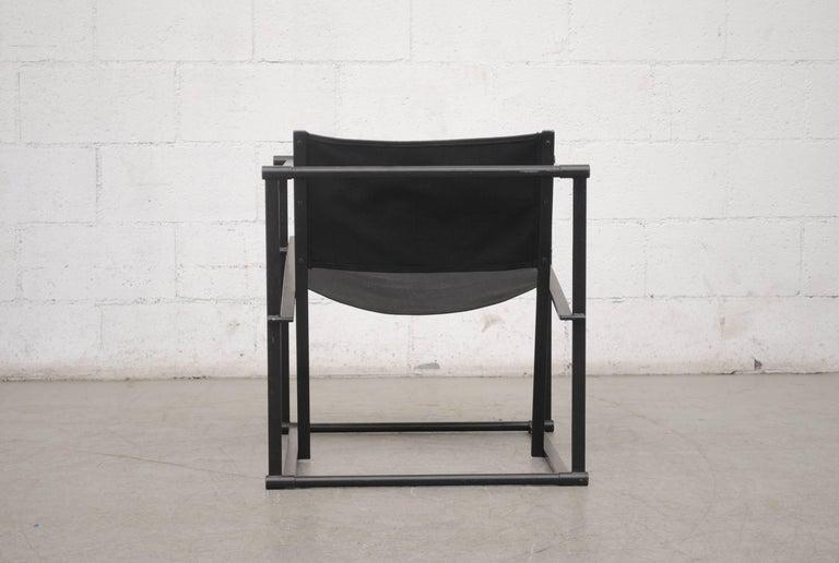 Enameled Pastoe Cube Lounge Chair by Radboud Van Beekum For Sale