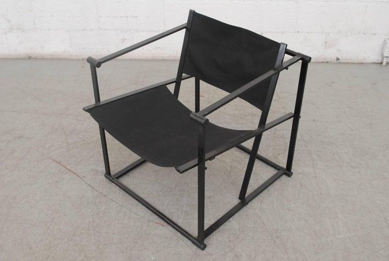 Pastoe Cube Lounge Chair by Radboud Van Beekum In Good Condition For Sale In Los Angeles, CA