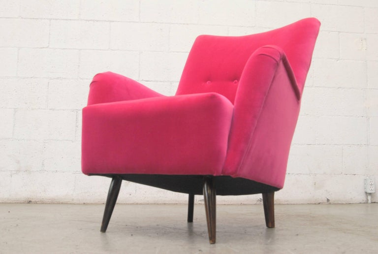 Mid-20th Century Theo Ruth Lounge Chair for Artifort For Sale