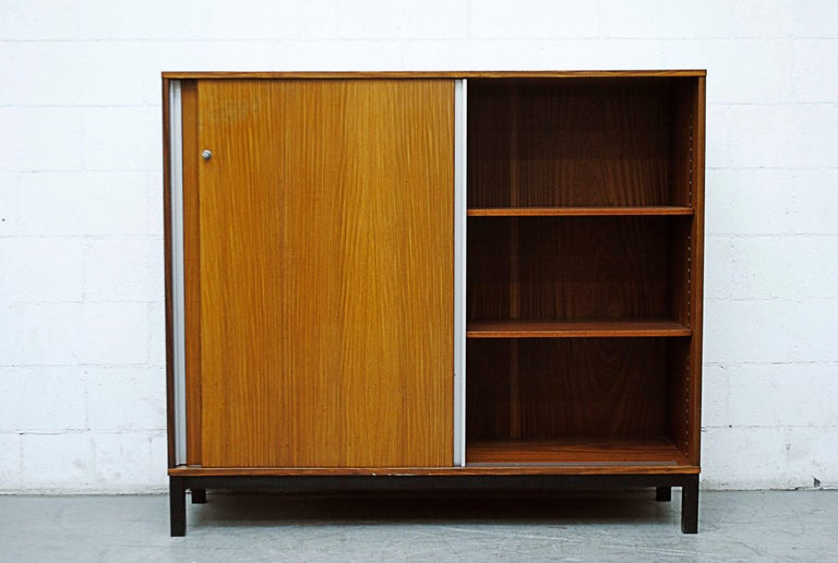 Mid-Century Modern Giant Midcentury Teak Office Cabinet For Sale
