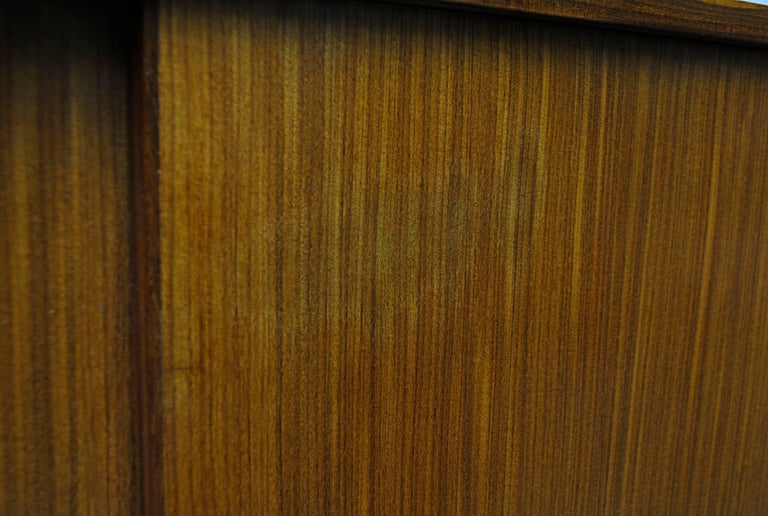 Giant Midcentury Teak Office Cabinet For Sale 1