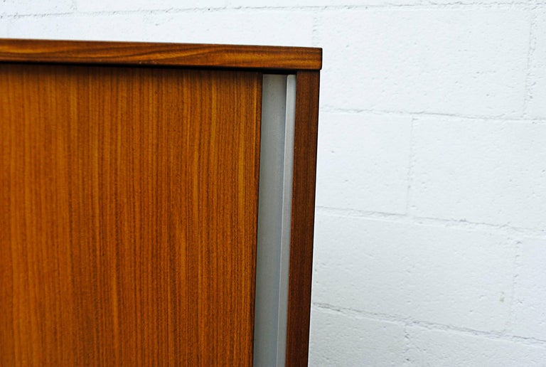Giant Midcentury Teak Office Cabinet For Sale 2