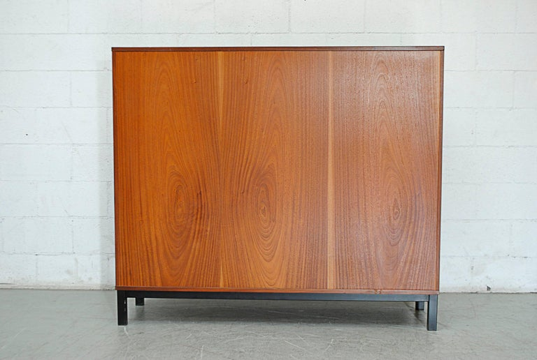 Mid-20th Century Giant Midcentury Teak Office Cabinet For Sale