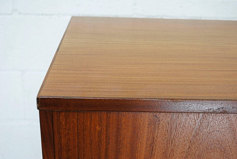 Giant Midcentury Teak Office Cabinet For Sale 7