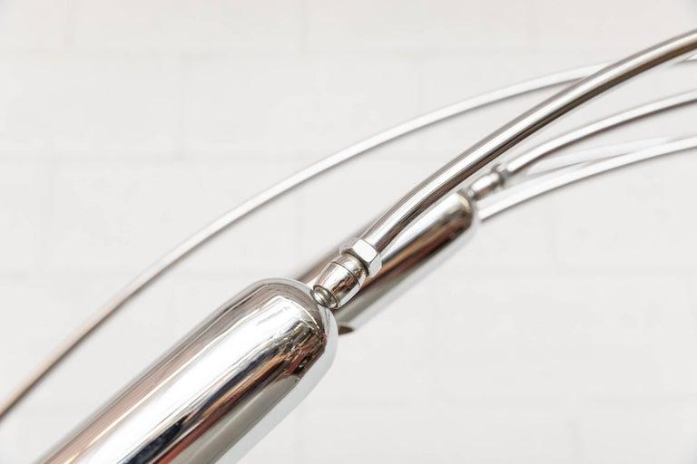 Mod Italian Arc Lamp For Sale 5