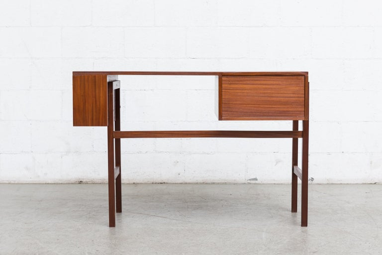 Teak Pierre Paulin Style Desk For Sale