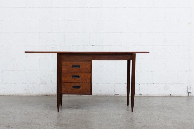 Dutch Arne Vodder Style Writing Desk For Sale