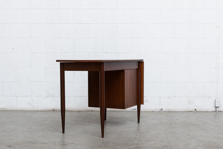 Mid-20th Century Arne Vodder Style Writing Desk For Sale