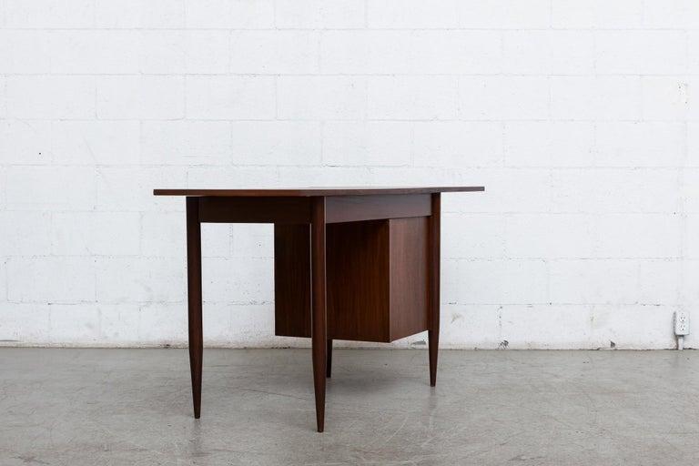Teak Arne Vodder Style Writing Desk For Sale