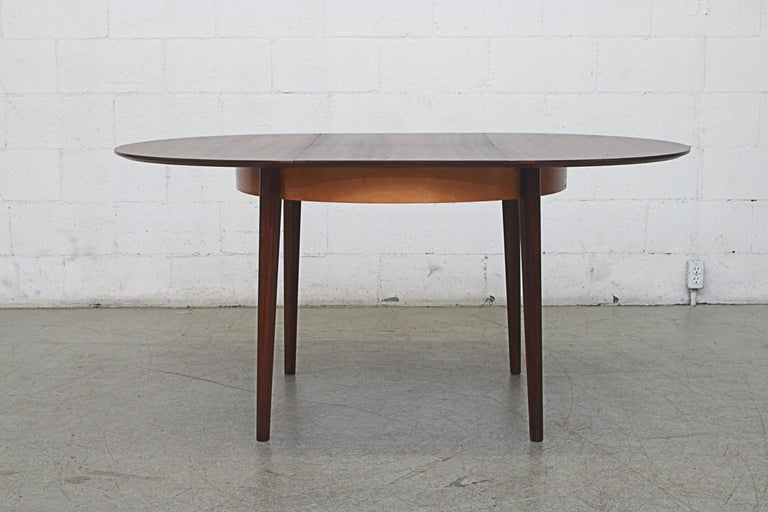 Mid-Century Modern Cees Braakman for Pastoe Round Teak Dining Table For Sale