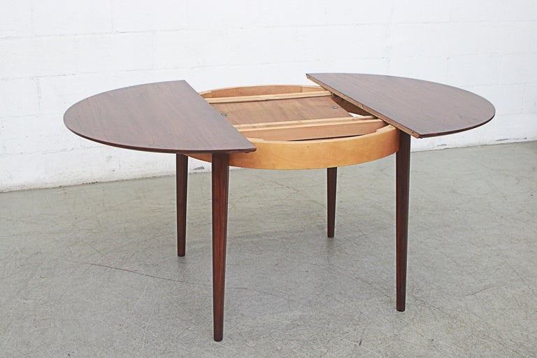 Mid-20th Century Cees Braakman for Pastoe Round Teak Dining Table For Sale