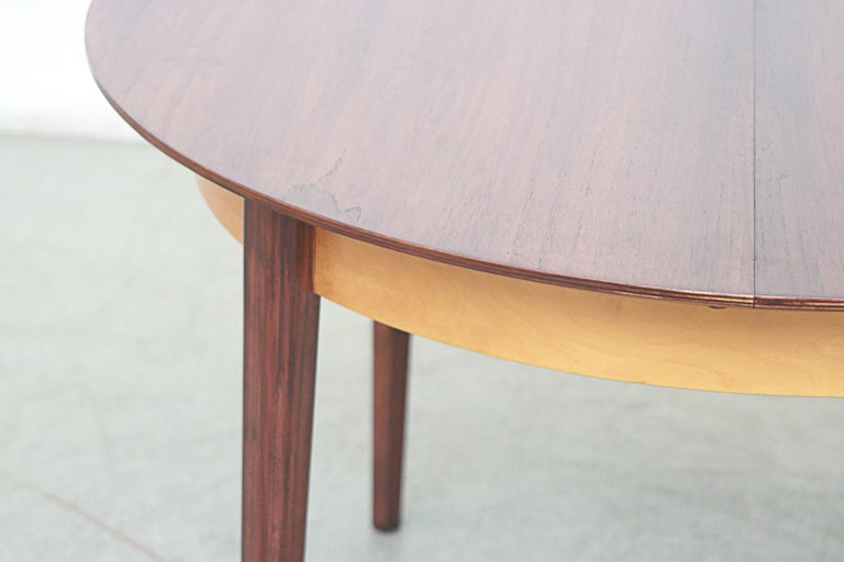 Cees Braakman for Pastoe Round Teak Dining Table For Sale 4
