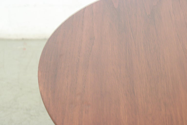 Cees Braakman for Pastoe Round Teak Dining Table For Sale 2