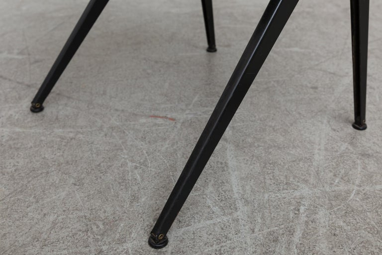 Set of 6 Jean Prouve and Friso Kramer Style School Chairs For Sale 8