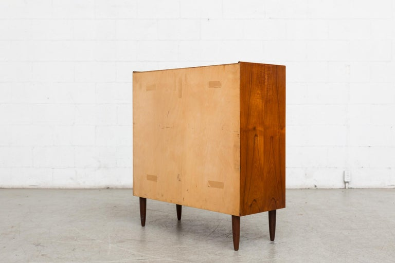 Midcentury Danish Teak Dresser In Good Condition For Sale In Los Angeles, CA