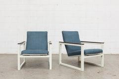 Pair of Kramer / Reijenga Cube Chairs