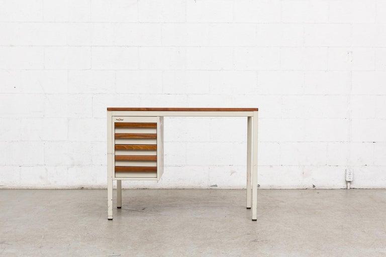 Mid-Century Modern Emmein Meubel Industrial Desk For Sale