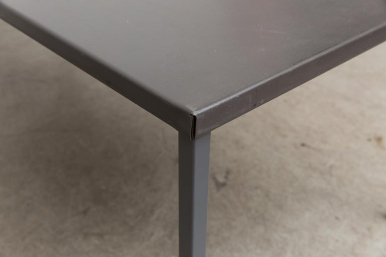 Dutch Extra Large Gispen Industrial Table For Sale
