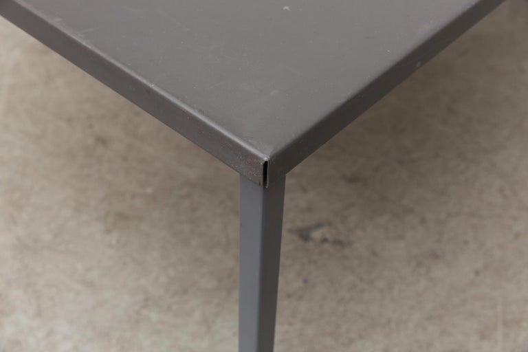 Mid-20th Century Extra Large Gispen Industrial Table For Sale