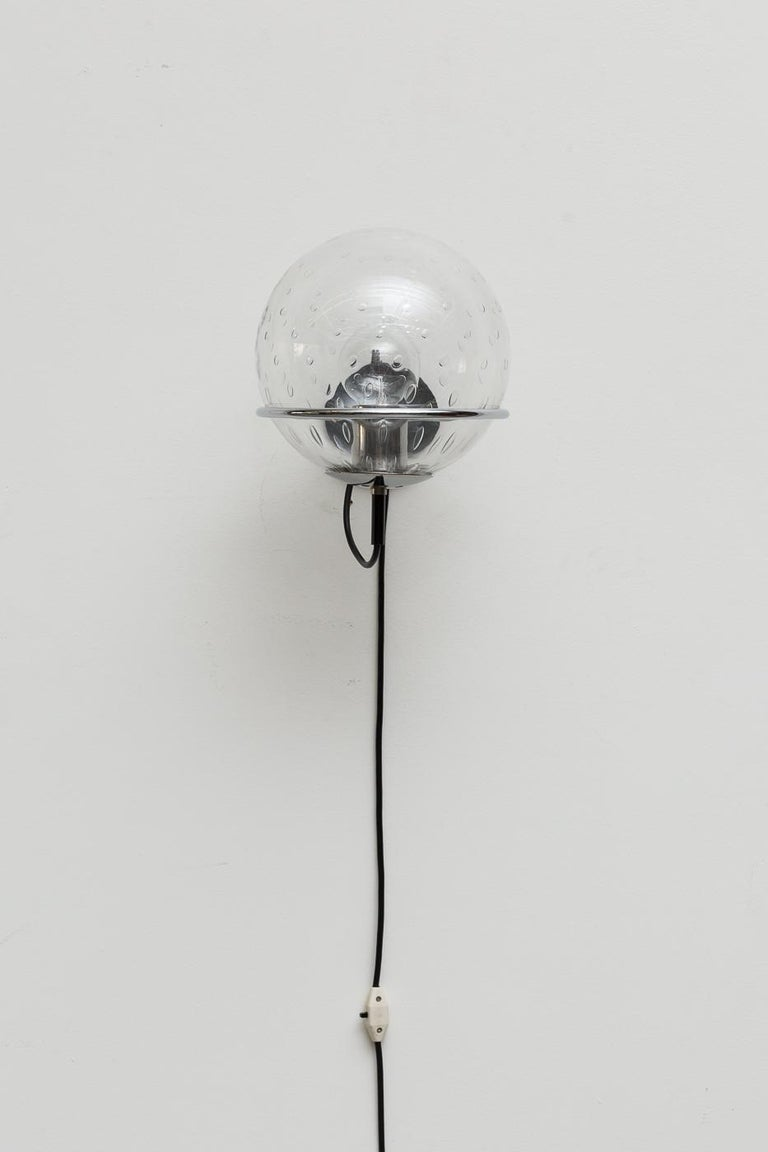 RAAK Bubble Globe Wall Sconce In Good Condition For Sale In Los Angeles, CA