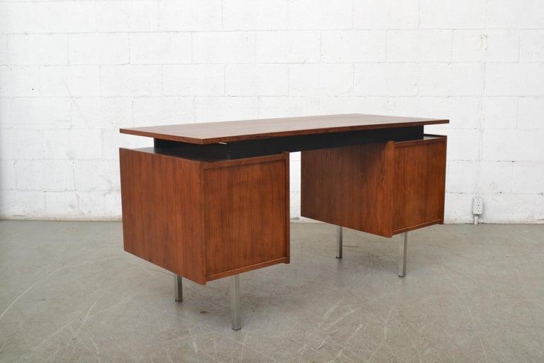 Dutch Cees Braakman Teak Desk for Pastoe For Sale
