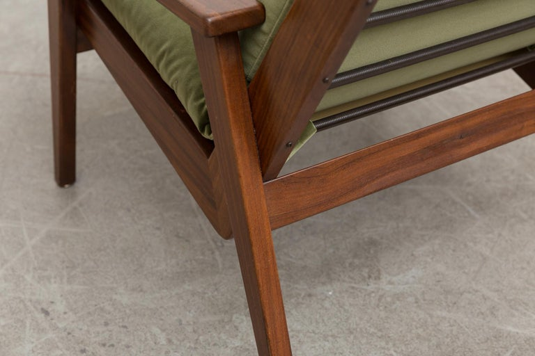 Robert Parry Olive Velvet Lounge Chair For Sale 2