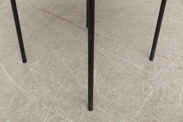 Mid-20th Century Rare Wim Rietveld for Auping Industrial Side Table For Sale