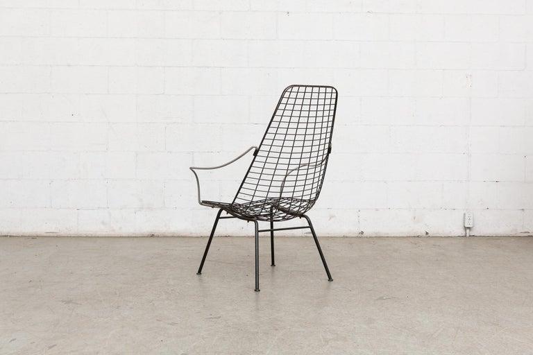 Dutch Rare Cees Braakman and Adriaan Dekker Flamingo Chair For Sale