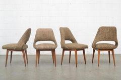 Set of 4 Saarinen Style Dining Chairs