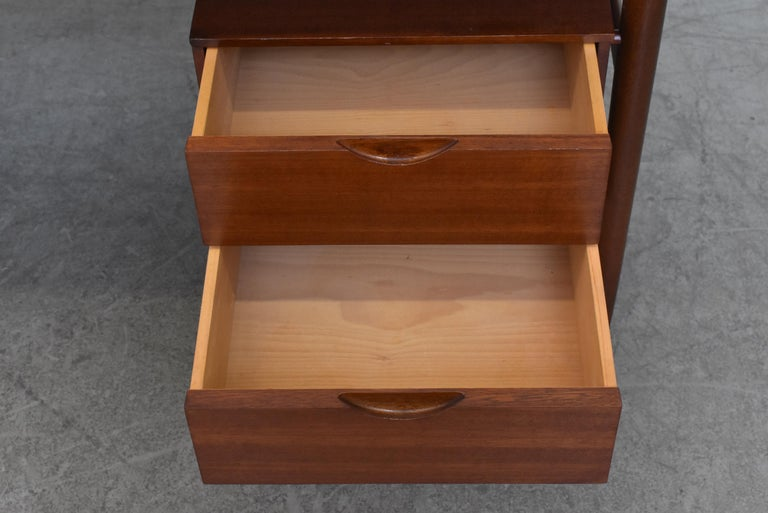 William Watting Style Midcentury Teak Desk For Sale 1