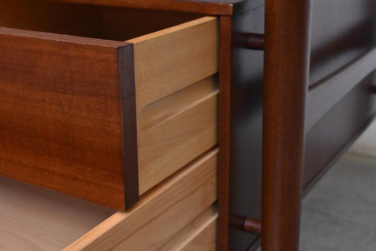 William Watting Style Midcentury Teak Desk For Sale 2