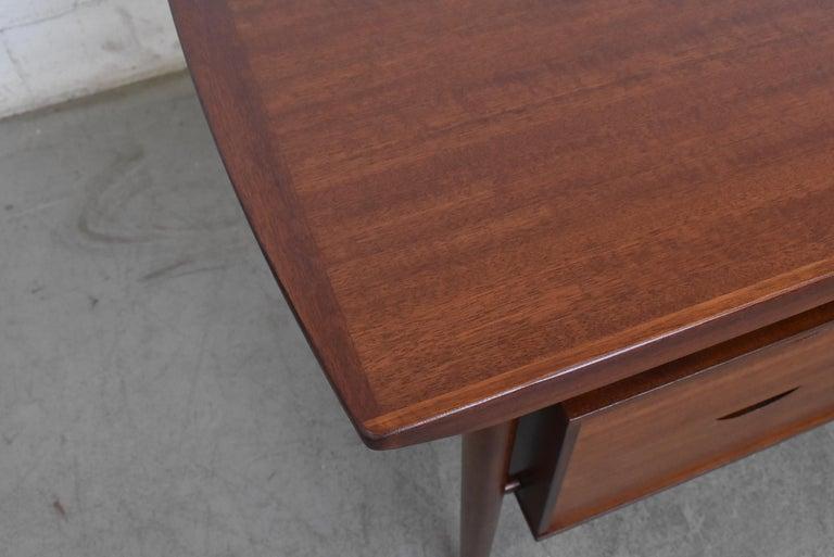 William Watting Style Midcentury Teak Desk For Sale 4