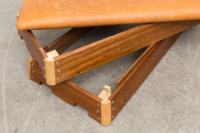 Vintage Dutch Gymnastics Bench For Sale 3